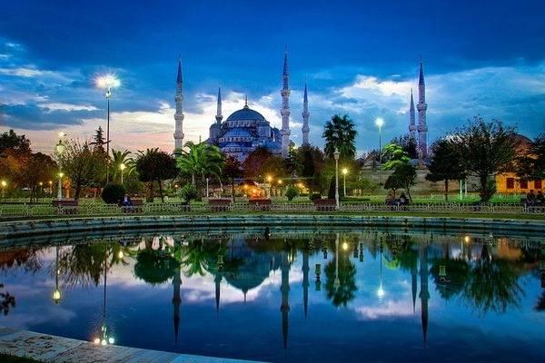 Голубая мечеть – дивная архитектурная памятка Турции